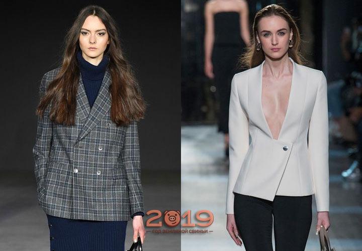 Самые красивые модели пиджаков 2018-2019