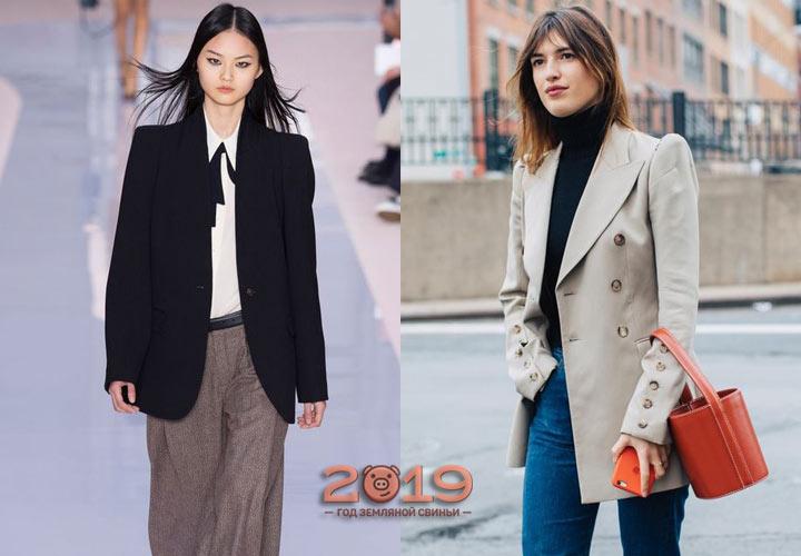 Классические пиджаки 2019 года