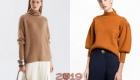 модные свитера 2018-2019
