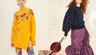 Цветные трикотажные вещи зима 2019
