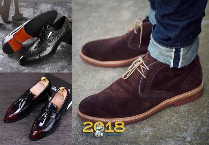 Модная мужская обувь осень 2018 зима 2019