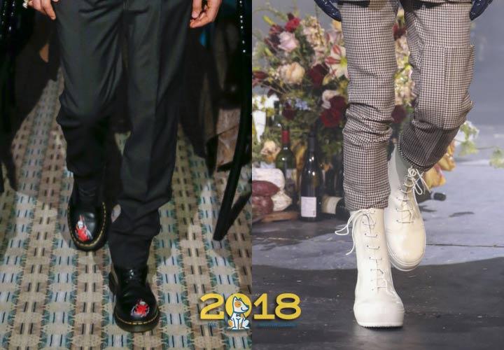 Цвета классической обуви для мужчин зима 2018-2019