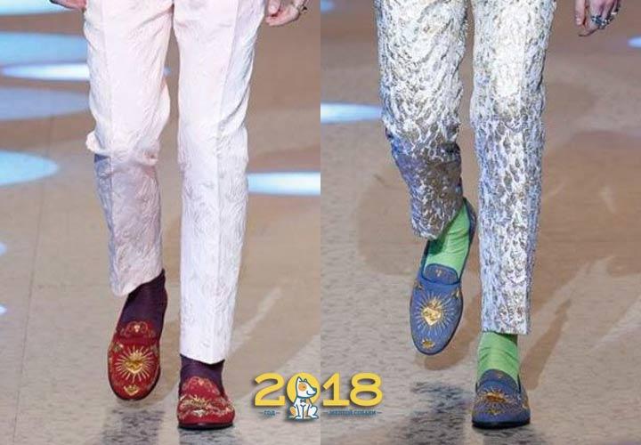 Модные мужские туфли 2018-2019 года