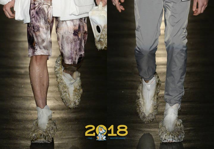 Тренды мужской обуви на 2018-2019 год