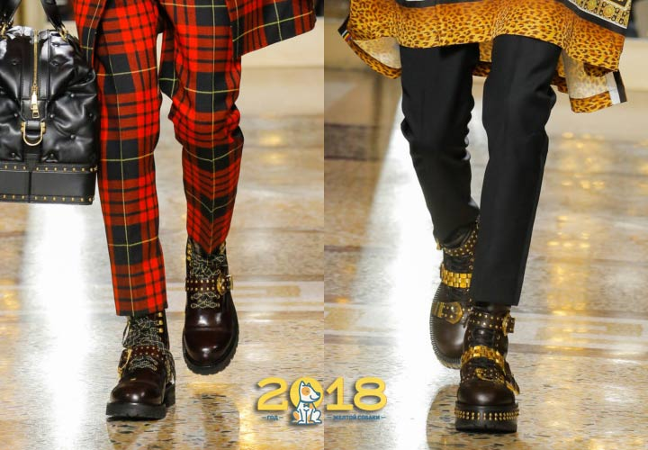 Мужские ботинки 2018-2019 года