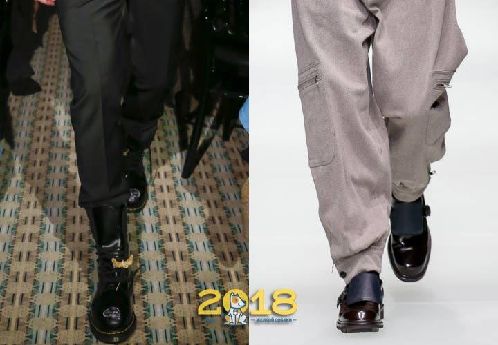 Брендовые мужские ботинки зима 2019