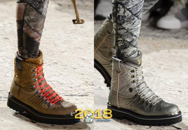 модные ботинки для мужчин осень-зима 2019