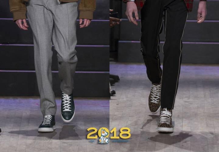 Обувь в спортивном стиле зима 2018-2019