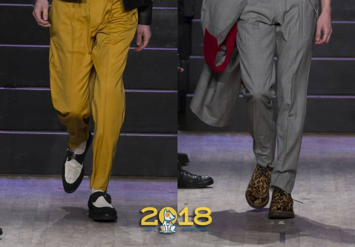 Стильные мужские туфли 2018-2019 год