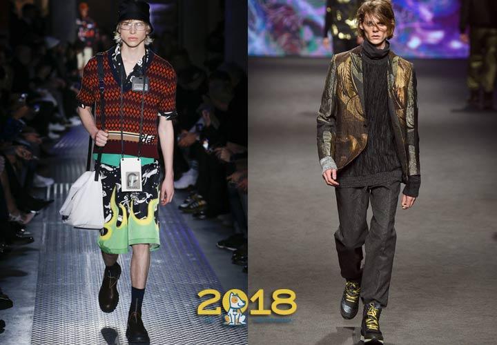 Многослойные свитера осень-зима 2018-2019