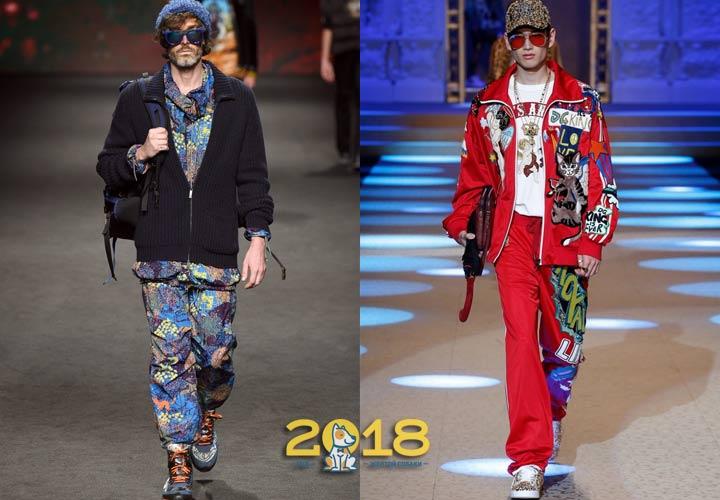 Спортивный стиль в мужской моде 2019 года