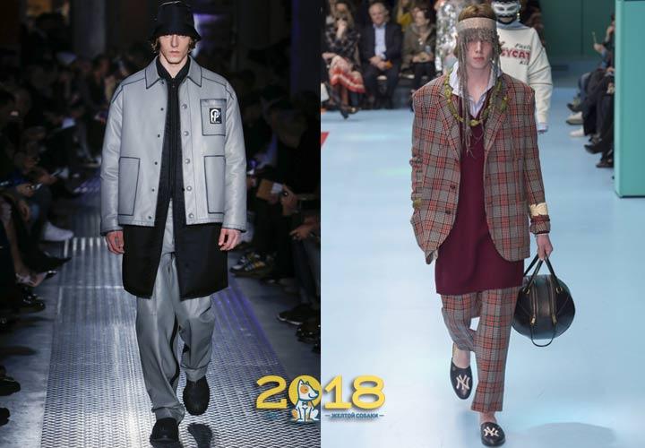 Стильный мужской образ зима 2018-2019