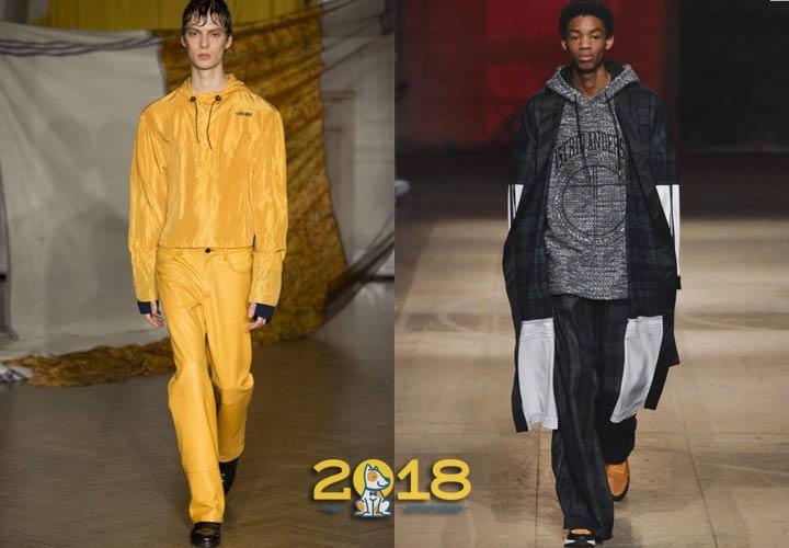 модные образы для мужчин зима 2019