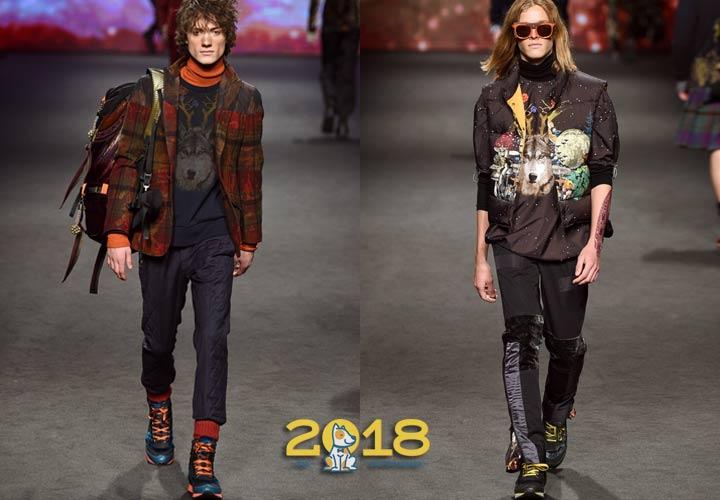 Молодежная мода осень-зима 2018-2019