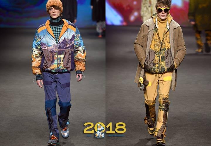 Молодежный образ осень-зима 2018-2019