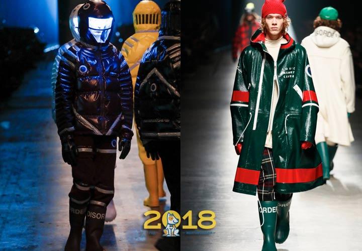Мужская мода 2018-2019 года