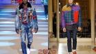 Мужская куртка из денима 2018-2019 год