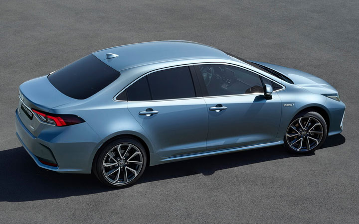 Представлен новый Toyota Corolla Prestige 2019