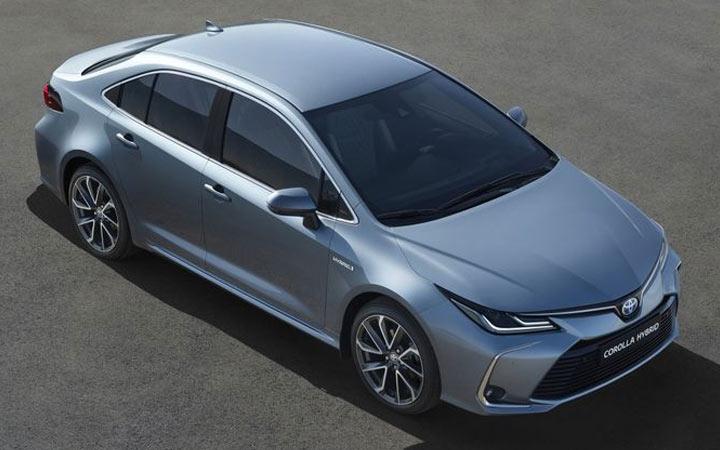 Экстерьер Toyota Corolla Prestige 2019