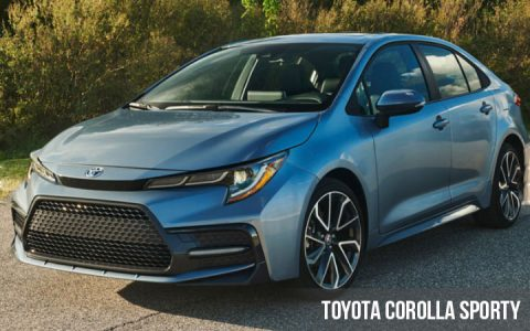 Toyota Corolla Sporty 2019