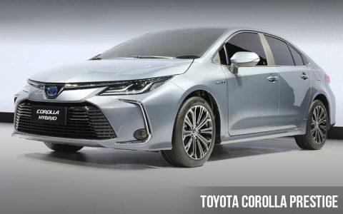 Toyota Corolla Prestige 2019