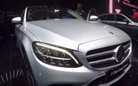 2019 Mercedes С-Class Женева 2018