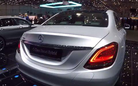 Mercedes С-Class презентация в Женеве