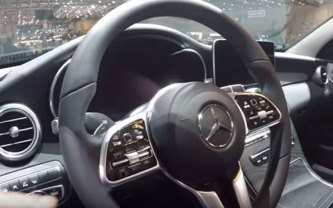 Новый руль Mercedes С-Class 2019