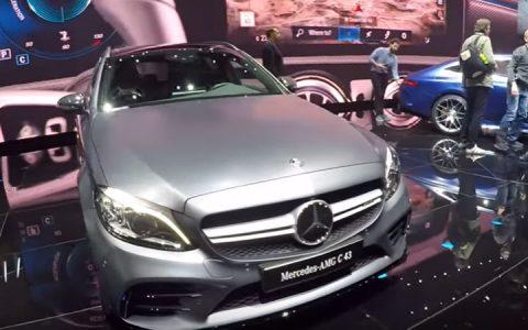 Mercedes С-Class AMG 2019