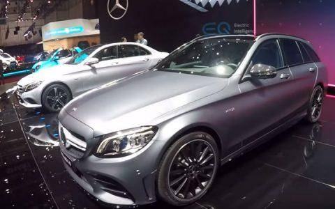 Женева март 2018 Mercedes С-Class AMG 2019