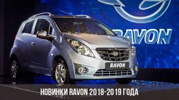 Новинки Ravon 2018-2019 года