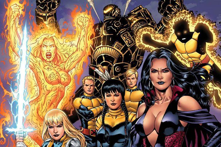 Новые мутанты комикс