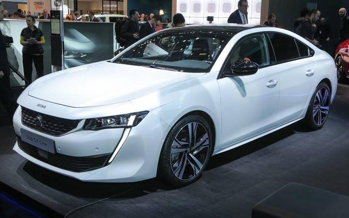 Новый Peugeot 508 2019 года