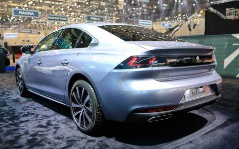 Задняя оптика Peugeot 508 2019