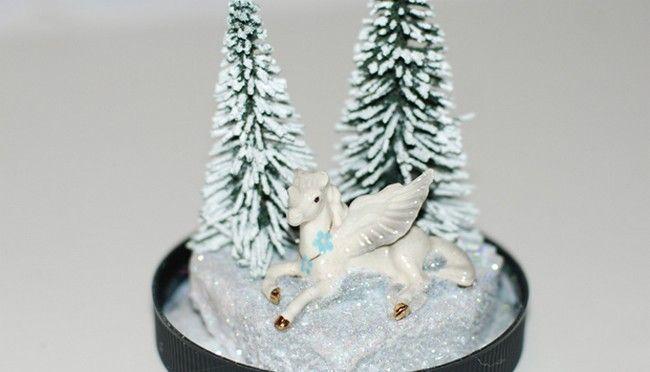 МК Шар со снегом