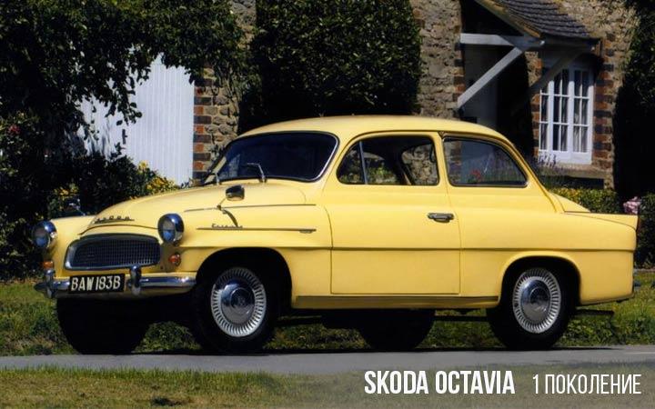Skoda Octavia 1 поколение