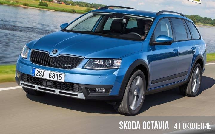 Skoda Octavia 4 поколение