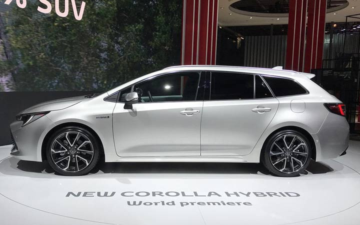 Новый Corolla Touring Sports 2019 года