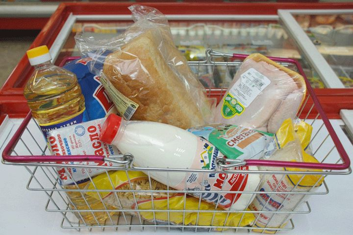 Корзина с продуктами