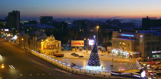 Новый 2019 год в Новосибирске