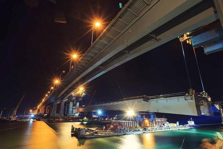 Ворошиловский мост в Ростове