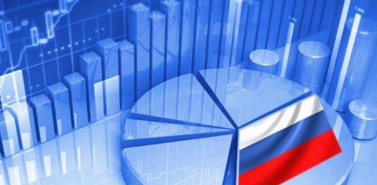 диаграмы с флагом россии