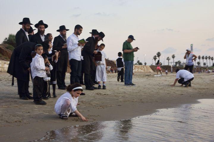 Паломничество к водоему на еврейский Новый год
