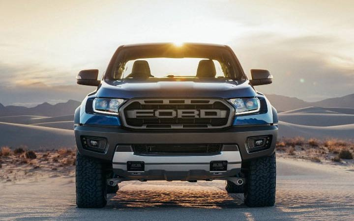 Экстерьер Ford Ranger Raptor 2019 года