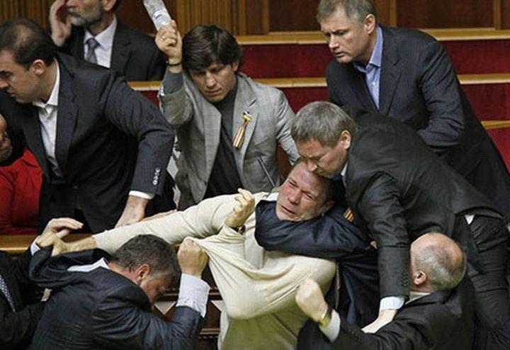 Драка в госдуме РФ