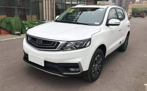 Geely Vision X6 2018-2019 года