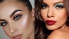 Трендовый макияж на Новый год 2019