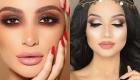 Красивый макияж на Новый год 2019