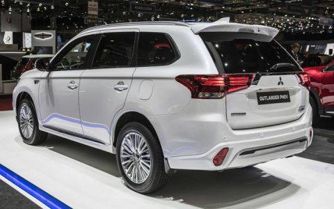 Новый Mitsubishi Outlander 2019 Женева