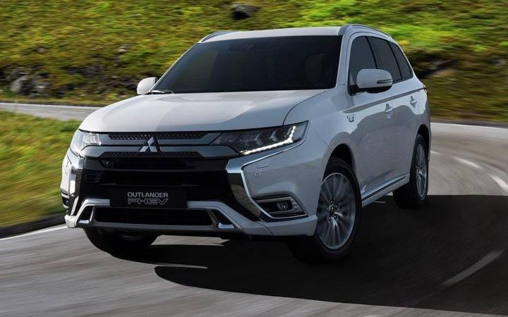 Новый дизайн Mitsubishi Outlander 2019